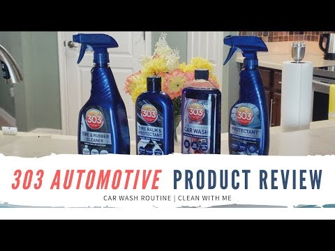 303 Automotive Line Products Review | Car Wash Routine | Clean With Me | Leann DuBois