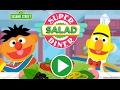 Sesame Street Bert and Ernie Super Salad Diner Kids Game