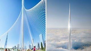 В Дубае строят самое высокое здание в мире 1300м.