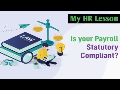 Statutory compliance in HR in India - YouTube