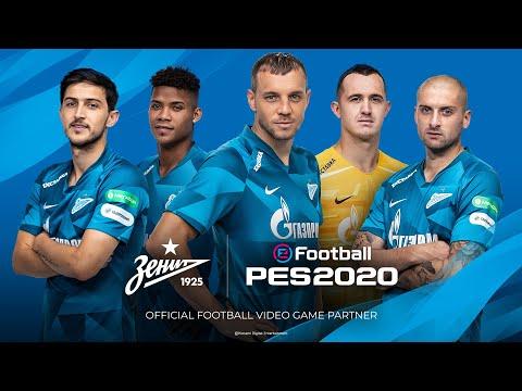 eFootball PES 2020 x FC Zenit - Partnership Announcement Trailer