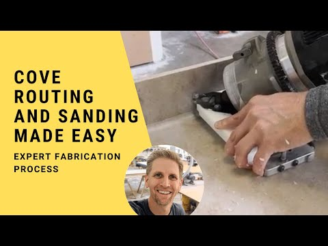 Video: Solid Surface Cove Routing and Sanding