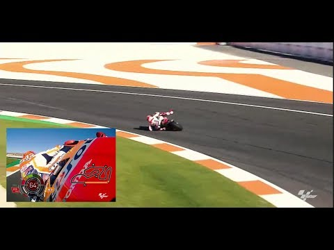 Marquez's unreal save at Valencia 2017 with on board data!