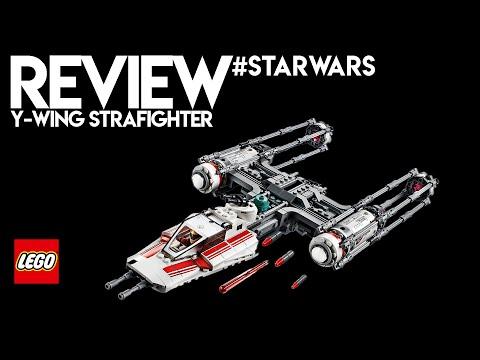 Vidéo LEGO Star Wars 75249 : Y-Wing Starfighter de la Résistance