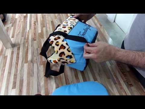 Bolso Transportador Para Perro Gato Acolchado - El Sitio De Compras