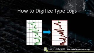 What is a type log and how to digitize it