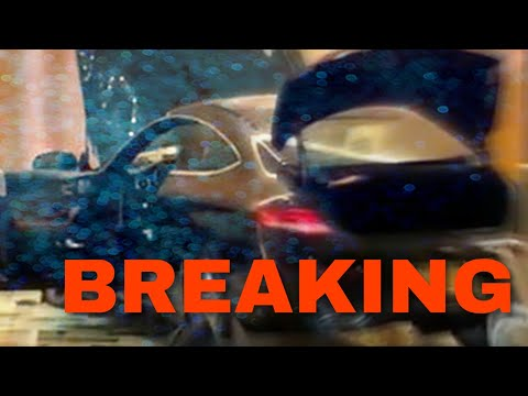 BREAKING NEWS - Car plows into Trump building lobby in New Rochelle, New York