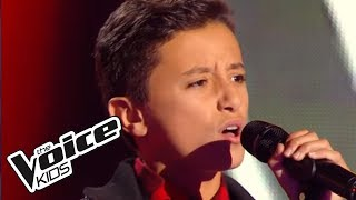 Girl on Fire - Alicia Keys | Mehdi | The Voice Kids 2015 | Blind Audition