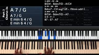 Never Alone (Live) Tori Kelly Ft. Kirk Franklin Piano Tutorial Part 3