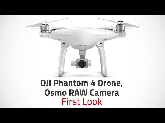 DJI Phantom 4 Drone, Osmo RAW Camera Launched in India