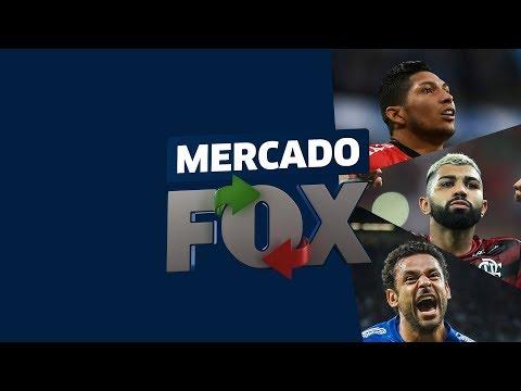 MERCADO FOX! Rony é alvo do Palmeiras, Fred mais longe do Cruzeiro e Gabigol muito perto do Fla