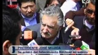 Mujica Hablo Sobre La Muerte De Nestor Kirchner