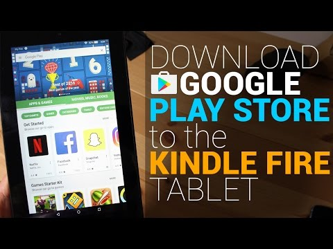 Watch Install Google Play Store To The Kindle Fire Tablet