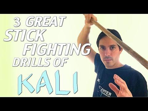 Amazing Beginner KALI STICK Fighting Drills for 2016 - Filipino ...