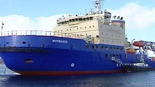 В Мурманске проходят ходовые испытания два новых ледокола российского флота