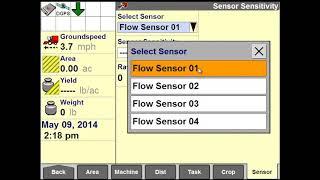 AFS Pro 700: Cotton Flow Calibration