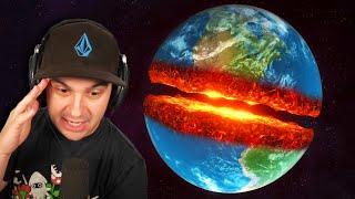 I CUT EARTH IN HALF...