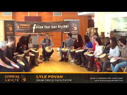 TEDxStanleyPark 2018 Drum Circle with  Lyle Povah [5]