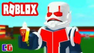 Создал САМОГО СТРАШНОГО Человека МУРАВЬЯ в Роблокс! Супергеройский Тайкон Roblox от Cool GAMES
