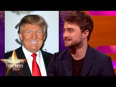Interview s Trumpem a taneček s publikem