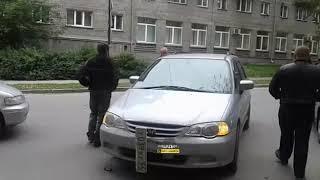 Новосибирск. ДТП на Советской.