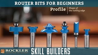 Router Bits For Beginners  Rockler Skill Builders