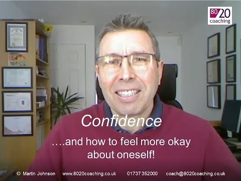 Confidence and how to feel more okay - 6 aspects to increase confidence that you can use to feel more okay and get back into the driving seat of your own emotions