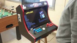 Bartop Arcade With Coin Acceptor And Trackball On A Raspberry Pi 3 Pi3