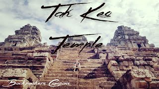 preview picture of video 'Climbing through the Ta Keo Temple Complex'