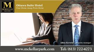 preview picture of video 'Ottawa Suite Hotel - McKellar Park Suites'