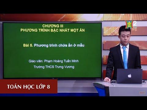 MÔN TOÁN - LỚP 8 | ĐẠI SỐ: PHƯƠNG TRÌNH CHỨA ẨN Ở MẪU |  Theo lịch của Bộ GD&ĐT phát sóng từ 18h30 ngày 24/4/2020, trên VTV7