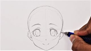How To Draw Anime Basic Anatomy (Anime Drawing Tutorial For Beginners)