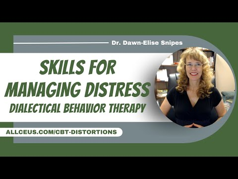 Dialectical Behavior Therapy (DBT) Skills | Mental Health CEUs for ...