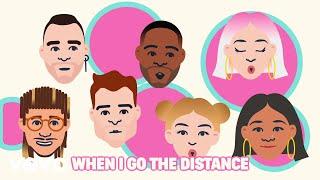 DCappella - Go the Distance (Lyric Video)