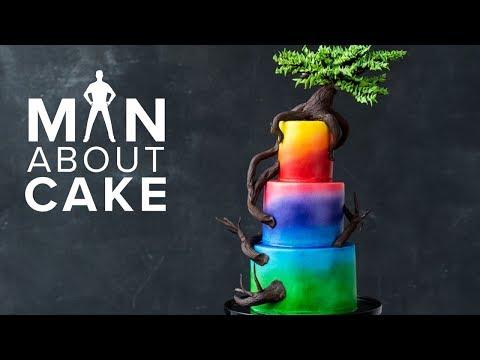BONSAI TREE Cake #MACFanChallenge Winner   Man About Cake with Joshua John Russell