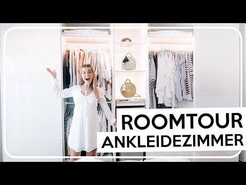 KLEIDERSCHRANK ROOMTOUR 2018 😍👗 Kleiderschank organisieren mit IKEA PAX   Coco