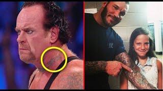 10 Most Shocking Heartwarming Tattoos on WWE Wrestlers