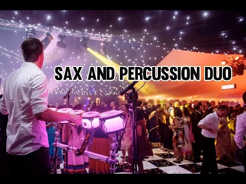 Sax and Percussion Duo Video