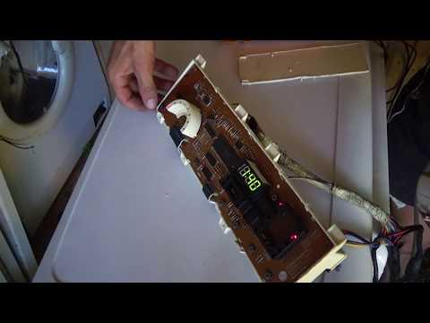 Стиральная машина Lg не включается, ремонт модуля