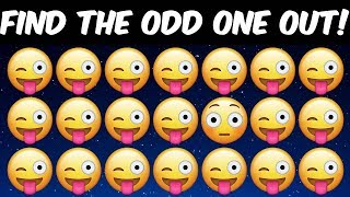 Can You Find The Odd One Out In These Pictures? Odd One Out Brain Teaser Riddles