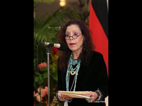 Compañera Rosario Murillo: Nicaragua exige a la comunidad internacional respeto y no injerencia