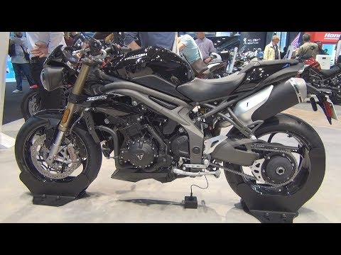 Triumph Speed Triple S (2019) Exterior and Interior