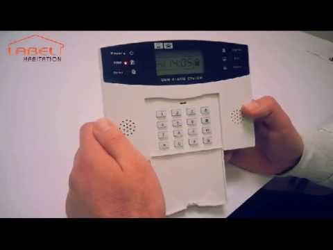 Installation Alarme maison et mode d'emploi - EMATRONIC