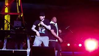 """Eminem brings out PHresher for """"Chloraseptic (Remix)"""" in NYC (Full, Best Quality, 2018)"""