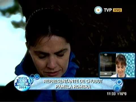 Conocemos a Pamela Romera, Chubut