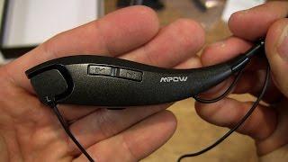 Mpow Jaws Wireless Bluetooth Headset