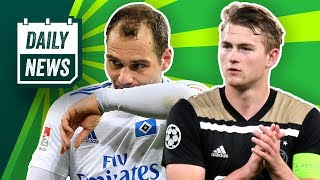 Ajax besiegt Tottenham! De Ligt mit Barcelona einig? Shitstorm gegen RB Leipzig! HSV: Lasogga raus!