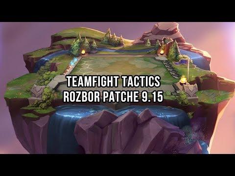 Rozbor Teamfight Tactics patche 9.15 s Pokrovačem