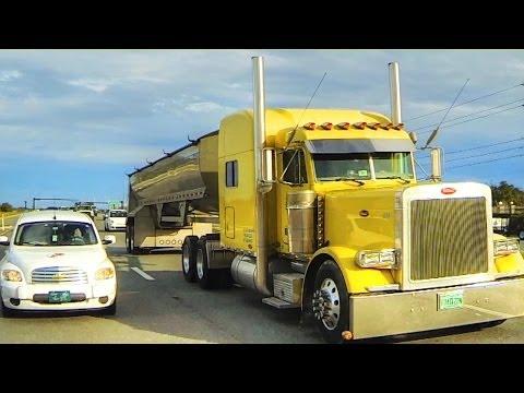 Albert's Transport - Rolling CB Interview™  2003 Peterbilt Frameless Dump Trailer онлайн видео