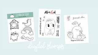 New Free Digital Stamps